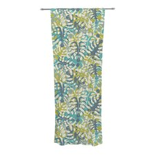 Tropical Leaves Curtain Panels (Set of 2)