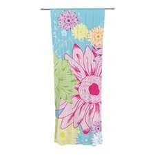 Summer Time Curtain Panels (Set of 2)