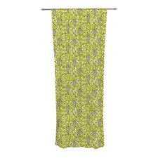 Blossom Bird Curtain Panels (Set of 2)