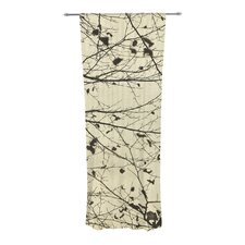 Boughs Neutral Curtain Panels (Set of 2)
