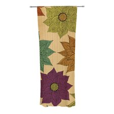 Color Me Floral Curtain Panels (Set of 2)