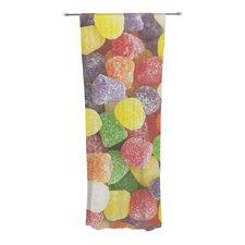 I Want Gum Drops Curtain Panels (Set of 2)