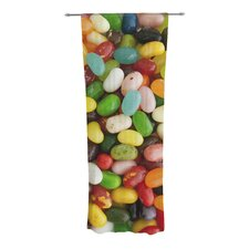 I Want Jelly Beans Curtain Panels (Set of 2)