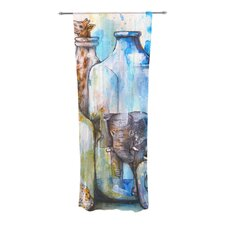 Bottled Animals Curtain Panels (Set of 2)