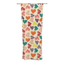 Little Hearts Curtain Panels (Set of 2)