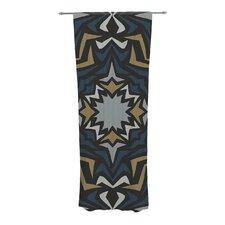 Winter Fractals Curtain Panels (Set of 2)
