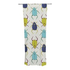 Beetles Curtain Panels (Set of 2)