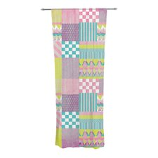 Patchwork Curtain Panels (Set of 2)