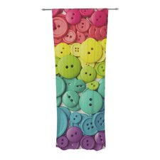 Cute as a Button Curtain Panels (Set of 2)