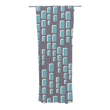 Cubic Geek Chic Curtain Panels (Set of 2)