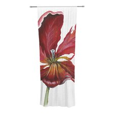 Open Tulip Curtain Panels (Set of 2)