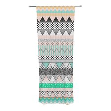 Chevron Motif Curtain Panels (Set of 2)
