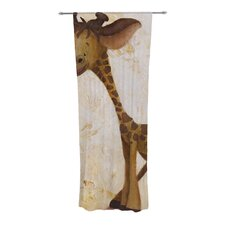 Georgey The Giraffe Curtain Panels (Set of 2)