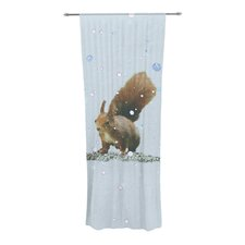 Squirrel Curtain Panels (Set of 2)