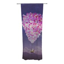 Never Stop Exploring IV Curtain Panels (Set of 2)