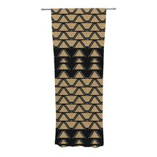 Deco Angles Curtain Panels (Set of 2)