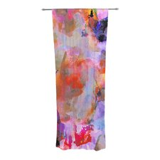 Painterly Blush Curtain Panels (Set of 2)