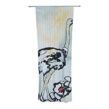Ostrich Curtain Panels (Set of 2)