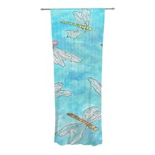 Dragonfly Curtain Panels (Set of 2)