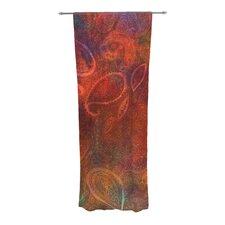Tie Dye Paisley Curtain Panels (Set of 2)
