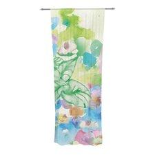 Leaf Bouquet Curtain Panels (Set of 2)