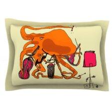 Playful Octopus by Marianna Tankelevich Woven Pillow Sham