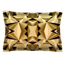 Abstraction by Nika Martinez Woven Pillow Sham