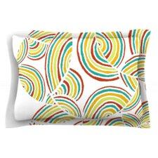Rainbow Sky by Pom Graphic Design Woven Pillow Sham