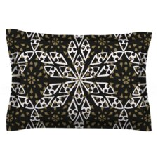 Ethnical Snowflakes by Miranda Mol Woven Pillow Sham