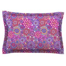 My Happy Flowers by Julia Grifol Woven Pillow Sham