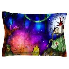 Fairy Tale Alice in Wonderland by Mandie Manzano Woven Pillow Sham