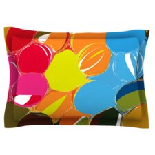 Bubbles by Matthias Hennig Woven Pillow Sham