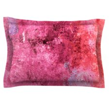 Cotton Candy by CarolLynn Tice Woven Pillow Sham