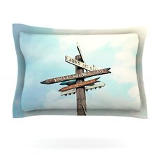 Love Shack by Sylvia Cook Woven Pillow Sham