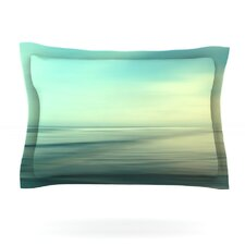 Beach by Sylvia Cook Woven Pillow Sham
