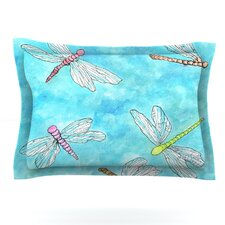 Dragonfly by Rosie Brown Woven Pillow Sham