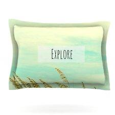 Explore by Robin Dickinson Woven Pillow Sham