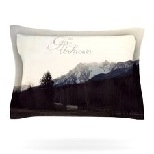 Go Into the Unknown by Robin Dickinson Woven Pillow Sham