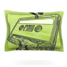 Mixtape by Sam Posnick Woven Pillow Sham