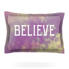 Believe by Rachel Burbee Woven Pillow Sham