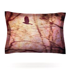 Midnight Dreary by Robin Dickinson Woven Pillow Sham