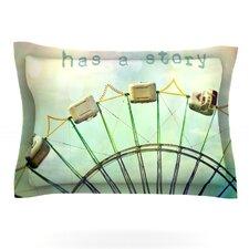 Every Summer Has a Story by Sylvia Cook Woven Pillow Sham