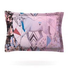 Unicorn by Vasare Nar Woven Pillow Sham