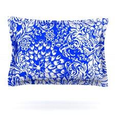 Bloom Blue for You by Vikki Salmela Woven Pillow Sham