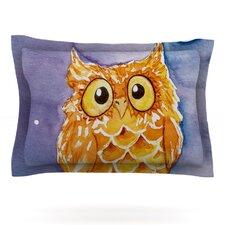 Little Hoot by Padgett Mason Woven Pillow Sham