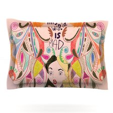 Alice in Wonderland by Vasare Nar Woven Pillow Sham