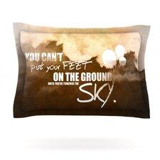 Touch the Sky Woven Pillow Sham