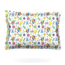Fun Creatures by Laura Escalante Woven Pillow Sham