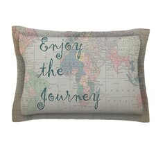 Journey by Catherine Holcombe Woven Pillow Sham