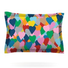 More Hearts by Project M Woven Pillow Sham